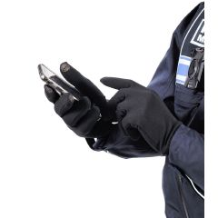 Gants tactiles thermorégulateurs - Noir