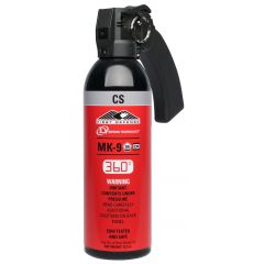 AEROSOL MK-9 FIRST DEFENSE - GEL CS 360° - 380 ML