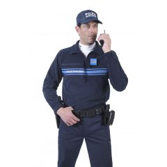 PULL-OVER POLAIRE LÉGER POLICE MUNICIPALE