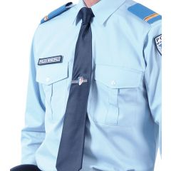 PINCE A CRAVATE HOMME - POLICE MUNICIPALE